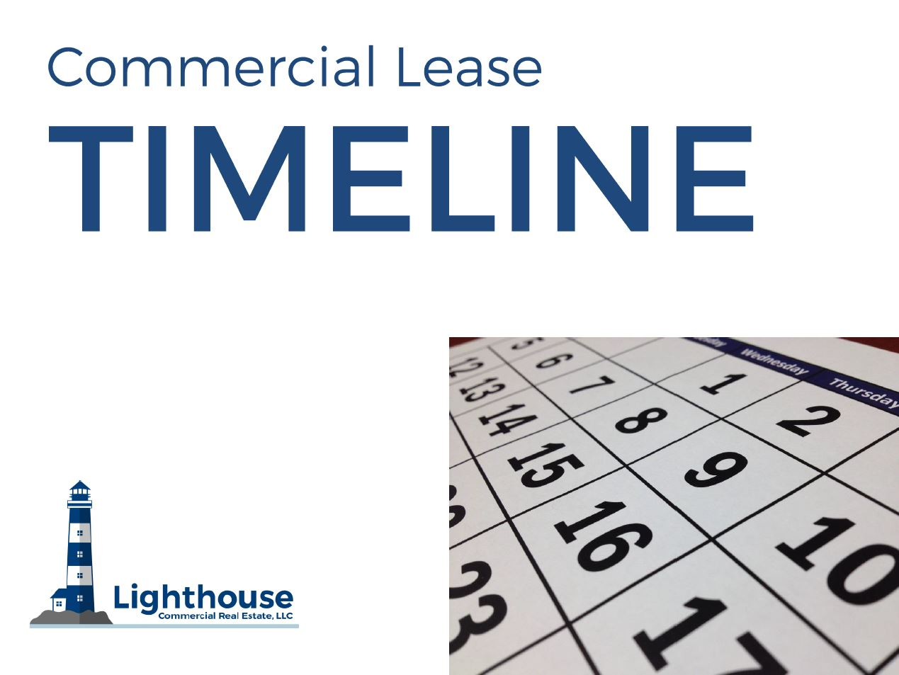 Lighthouse Lease Timeline Checklist