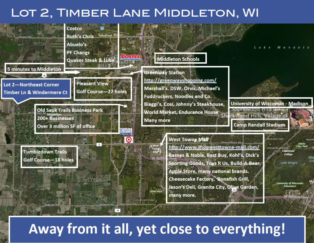 home lot for sale Middleton WI